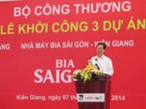 Sáng 7-2, Lễ khởi công xây dựng các nhà máy lớn tại khu công nghiệp Thạnh Lộc (xã Thạnh Lộc, huyện Châu Thành, Kiên Giang) - Ảnh minh họa